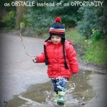 Motivational Monday Quote – Puddle as an obstacle
