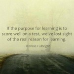 Motivational Monday quote – real reason for learning