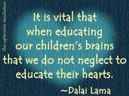 educate children's hearts and minds