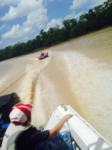 Tubing on fitzroy river