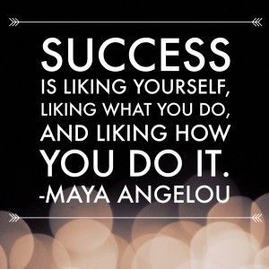 Maya Angelou success