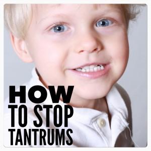stopping tantrums
