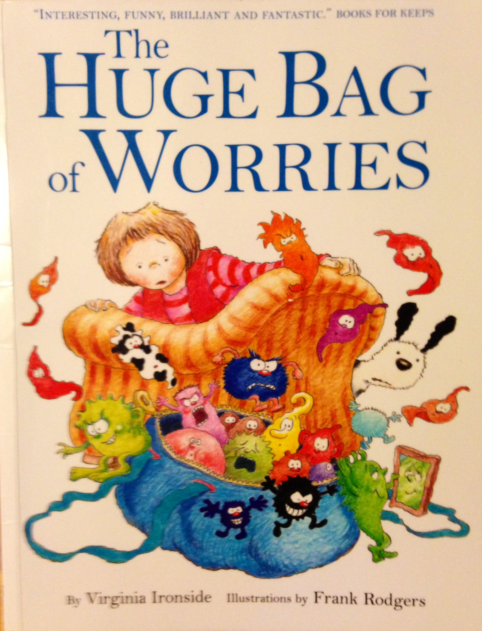 The huge bag of worries: childhood anxiety